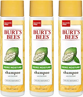 product image for Burt's Bees Baobab Oil More Moisture Shampoo, Sulfate-Free Shampoo, 10 Oz - Pack of 3 (Package May Vary)