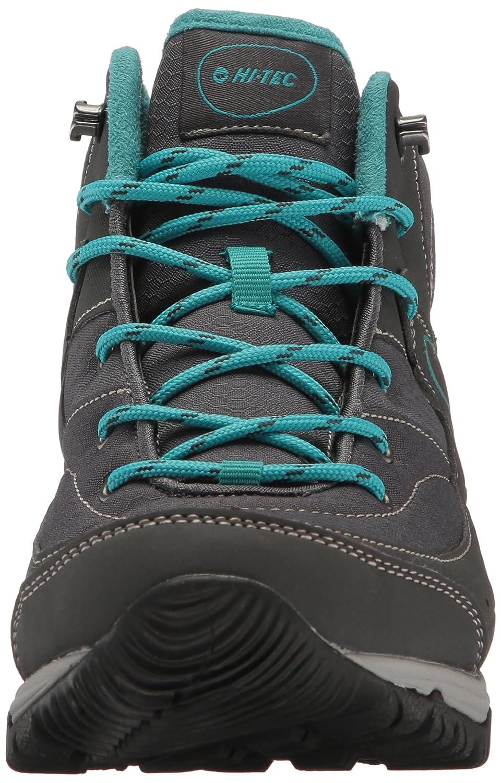 Hi-Tec Women's Equilibrio Bijou Mid I-W Hiking Shoe B01HNL5BU2 8.5 B(M) US|Charcoal/Tile Blue