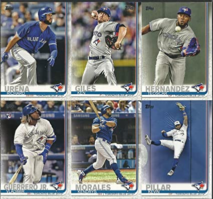 new style 68c08 ceeb8 2019 Topps Series 1 & 2 Toronto Blue Jays Team Set 21 CARDS ...