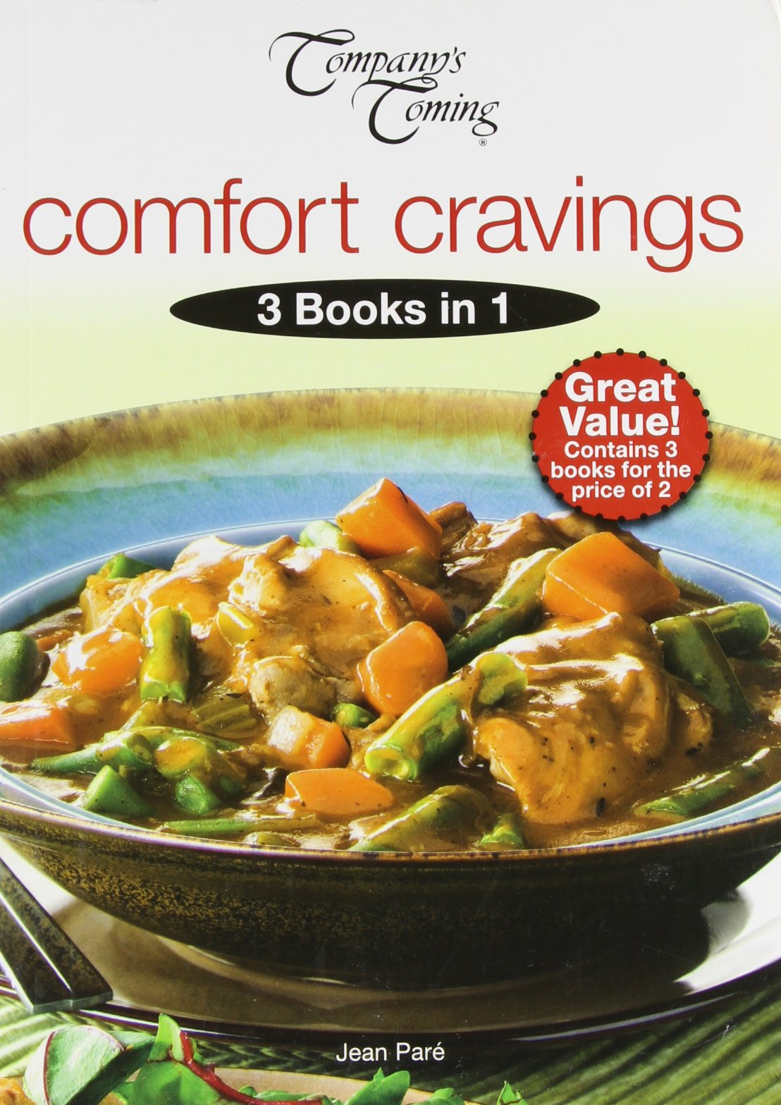 Comfort Cravings (3-in-1 Cookbook Collection) PDF