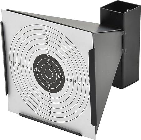 14x14cm Zielscheiben Scheibenkasten Für Luftpistole Kugelfang Trichter+100 tlg
