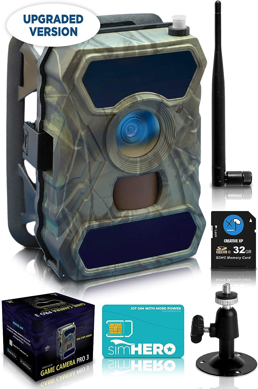 CreativeXP 3G Cellular Trail Cameras