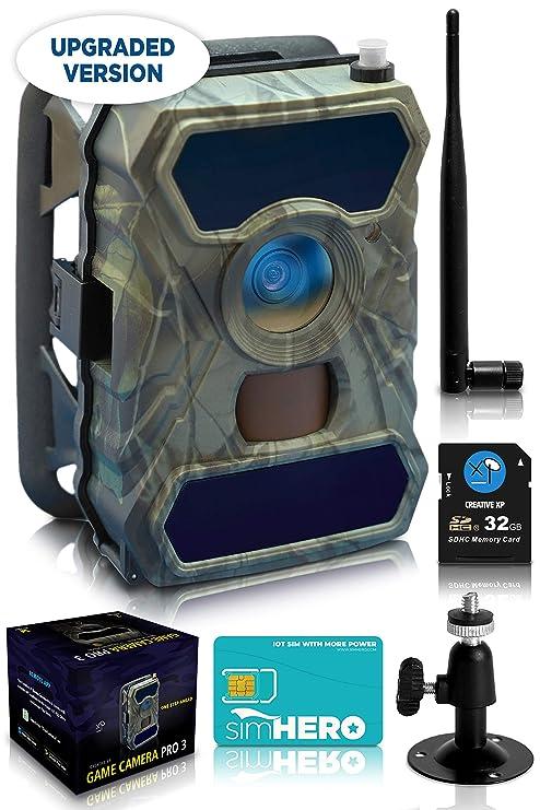 Amazon.com: CreativeXP - Cámara de 3 G con cámara de tren ...