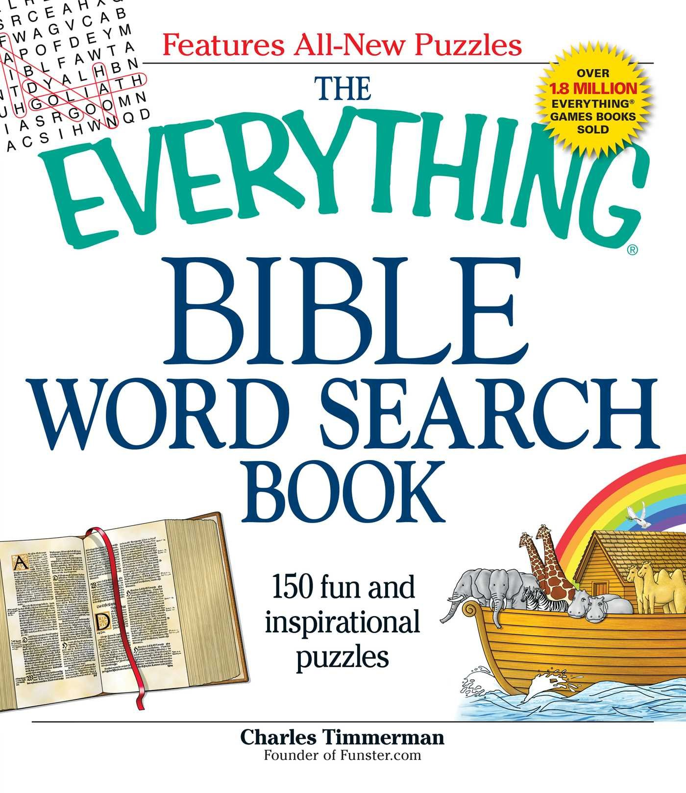 The Everything Bible Word Search Book: 150 fun and inspirational puzzles pdf epub
