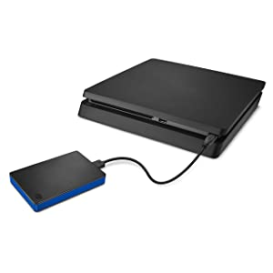 Seagate 4TB Game Drive for PlayStation 4 Portable external USB Hard Drive (STGD4000400) (Tamaño: 4TB)