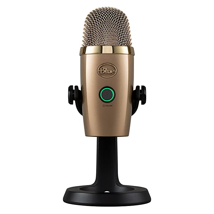 Blue Microphones Yeti Nano premium USB Mic for Recording & Streaming-in CUBANO GOLD