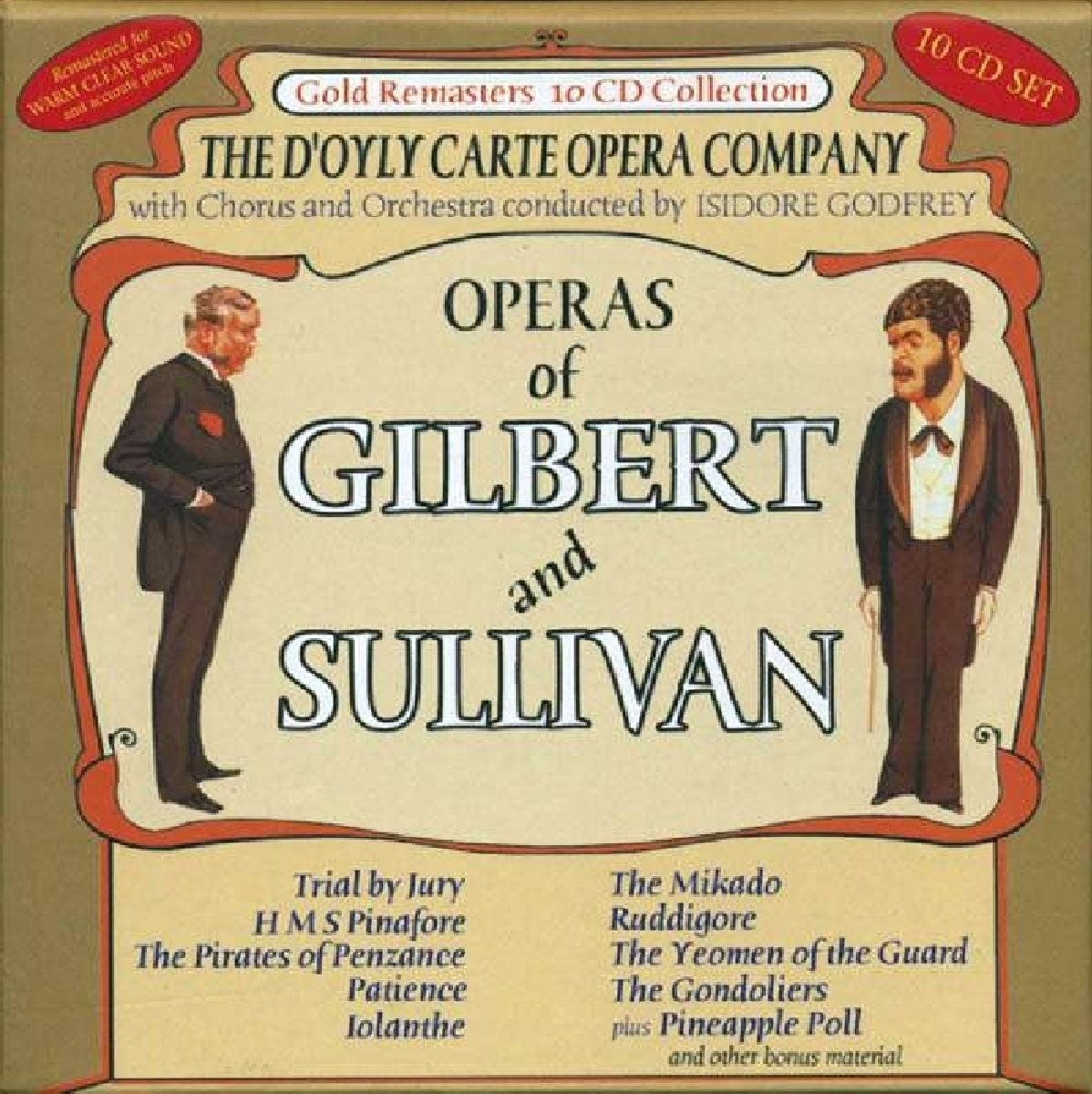 The Operas Of Gilbert And Sullivan -  D'Oyle Carte Opera Company by 3H