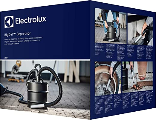 Electrolux ZE004 - Aspirador de Cenizas, Color Negro: Amazon.es: Hogar