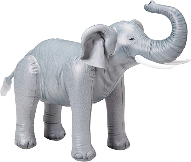 "Amazon.com: Inflable gigante elefante, 30"" Tall: Toys ..."