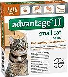 Advantage II Small Cat 4-Pack