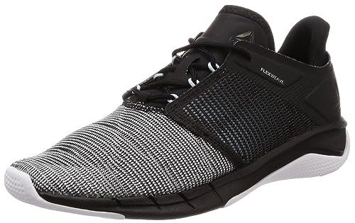 7a95264a10b67e Reebok Women s s Fast Flexweave Trail Running Shoes Multicoloured  (Black Dreamy Blue White