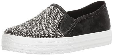 Skechers Double Up Shiny Dancer Slip On Women's Shoes Size