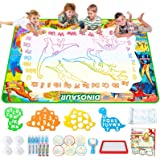 Jasonwell Aqua Magic Doodle Mat - 60 x 40 Inches Large Water Drawing Doodling Mat Painting Writing Doodle Board Coloring…