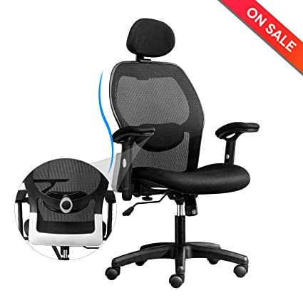 amazon com longem high back mesh office chair adjustable