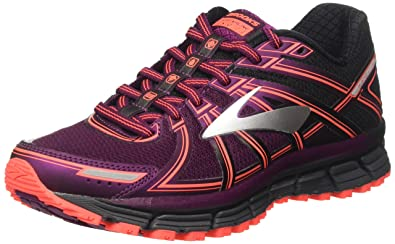dc2dde99029 Brooks Women s Adrenaline ASR 14 Black Ebony Pickled Beet 5.5 ...