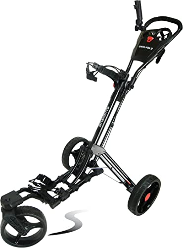 Swerve Founders Club 360 Swivel Wheel Qwik Fold Golf Push Cart