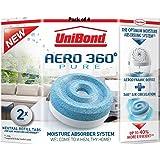 UniBond 1807921 Aero-360 Moisture Absorber Refills Pack of 4 (8x 450g tabs)