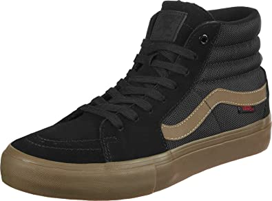 4939261797 Vans x Thrasher Sk8 Hi Pro Black Gum Uk6  Amazon.co.uk  Shoes   Bags