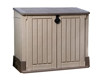 Keter Store It Out MIDI Outdoor Resin Horizontal Storage Shed