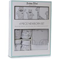 Bubba Blue 'Two By Two' 4pcs Newborn Layette Set, grey