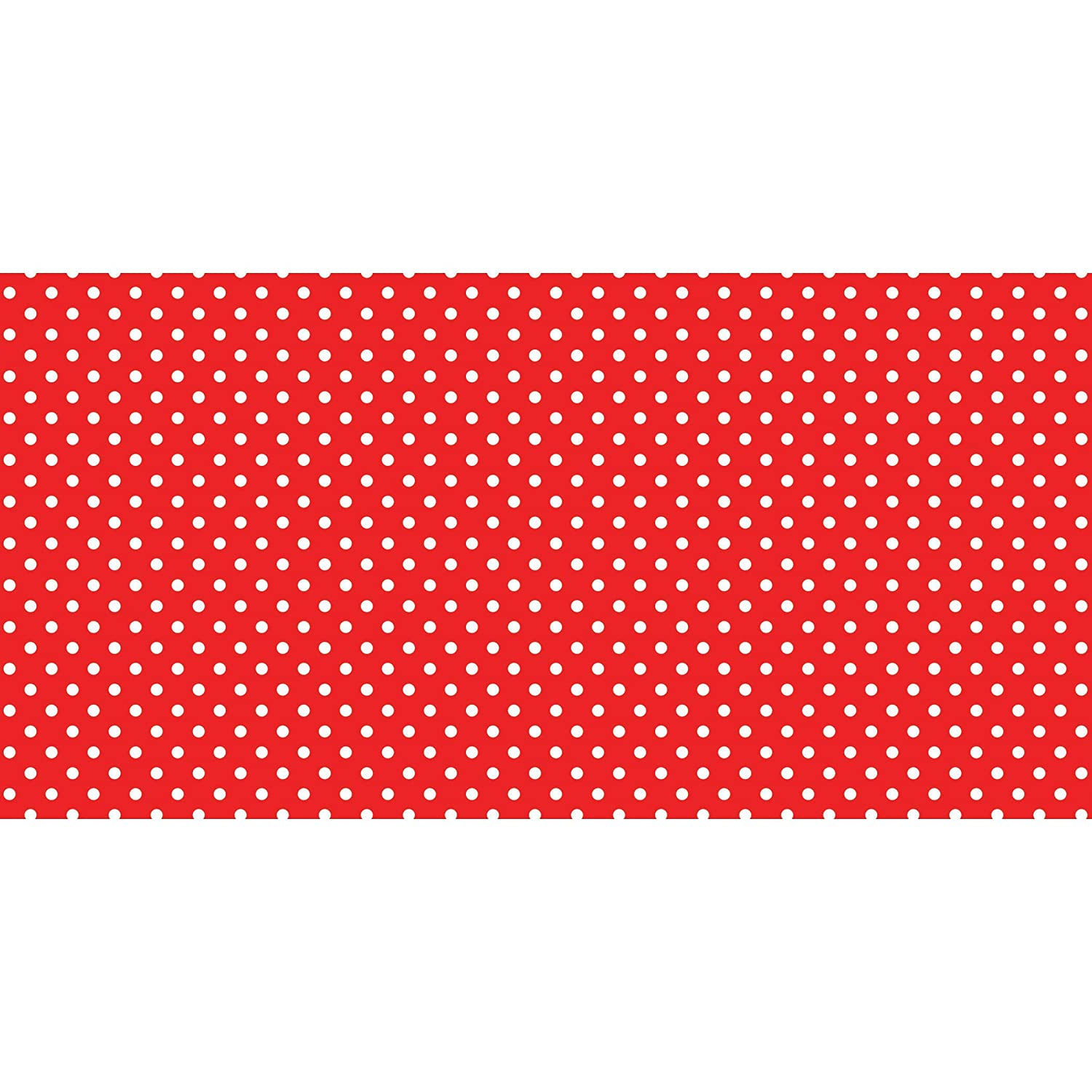 Fadeless 48X50Ft Classic Dots Red B014CD1XYW Red & White Classic Dots Red & White Classic Dots