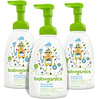 3Pk. Babyganics Foaming Dish and Bottle Soap