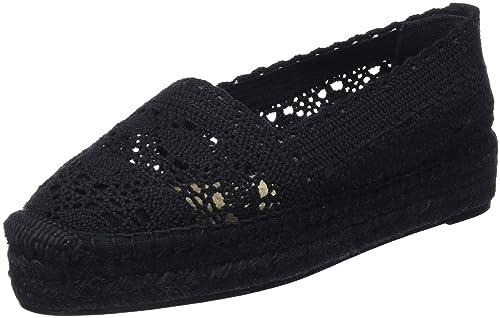 Castañer Kenda Ss18053, Alpargatas para Mujer, Negro (Black 100), 39 EU: Amazon.es: Zapatos y complementos