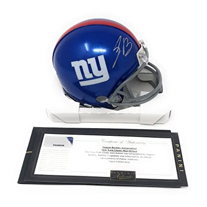 new product 218fa 47590 Amazon.com: Saquon Barkley New York Giants Signed Autograph ...