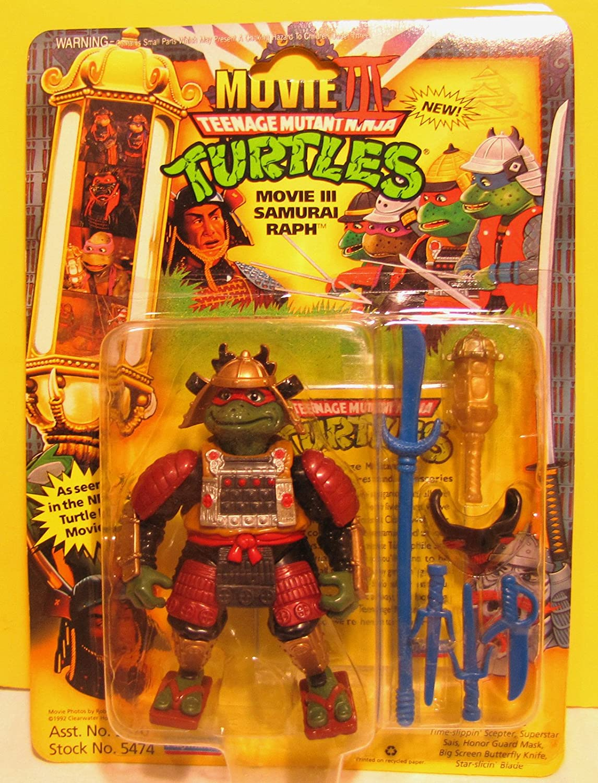Amazon.com: Teenage Mutant Ninja Turtles Raph Samurai: Toys ...