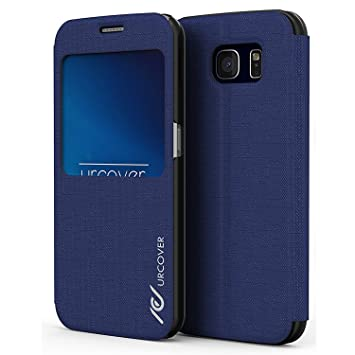 Urcover® Compatible con Samsung Galaxy S6 | View Case Funda ...