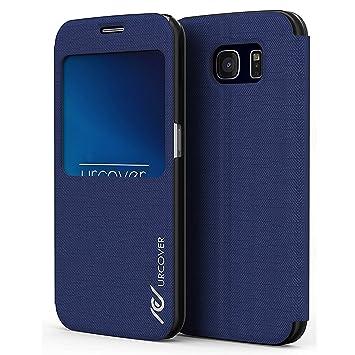 Urcover® Compatible con Samsung Galaxy S6 | View Case Funda ...