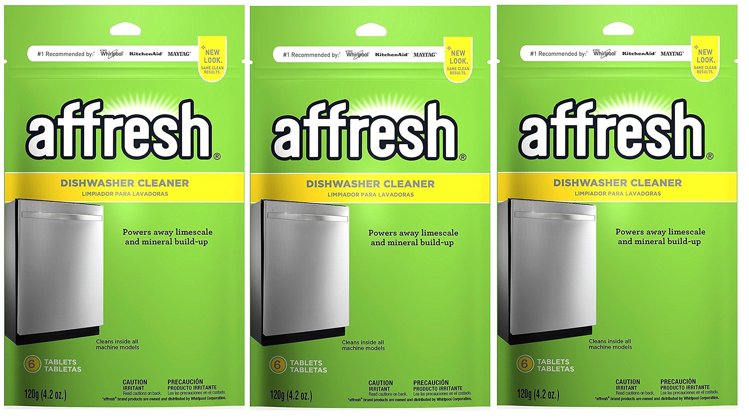 Affresh W10282479 Dishwasher Cleaner, (18 Tablets)