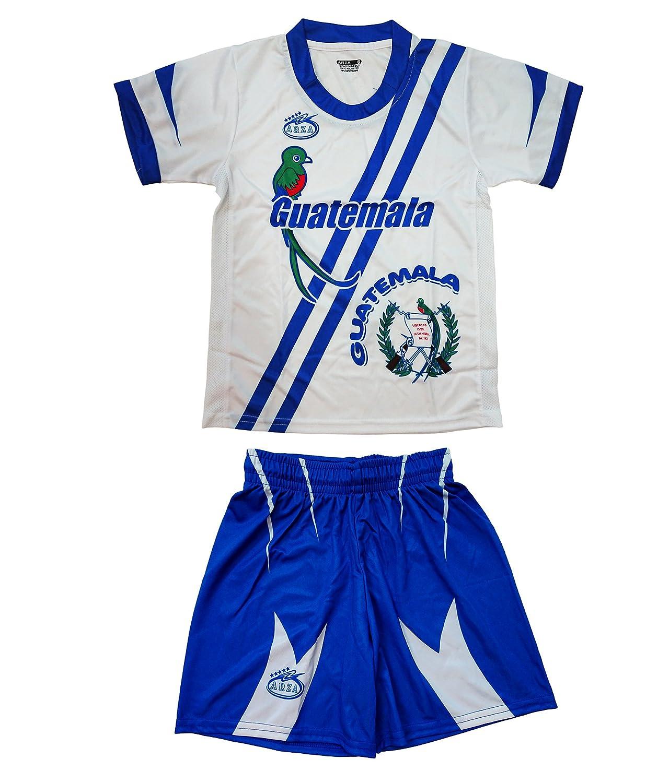 グアテマラユースSoccer Uniform Arza Exclusiveデザイン B01MT3XYDR 2|ホワイト ホワイト 2