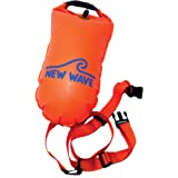 New Wave Swim Buoy for Open Water Swimmers and Triathletes - Light and Visible Float for Safe Training and Racing…