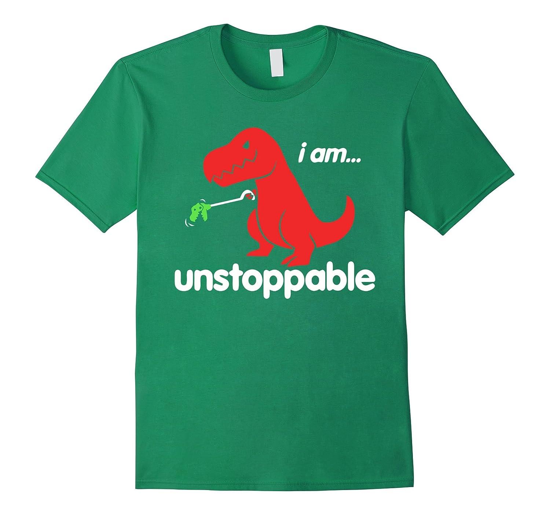91cb0eec Kid T Shirt | I Am Unstoppable Funny T-Rex Dinosaur T-Shirt-BN ...