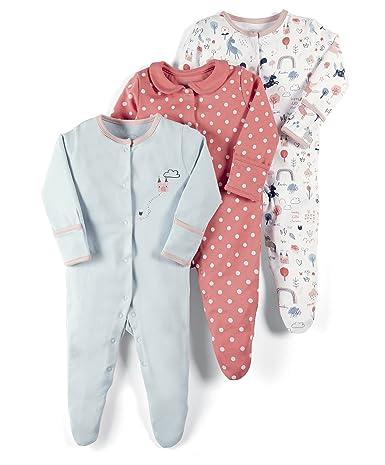 Pack de 3 Mamas /& Papas Pelele para Beb/és