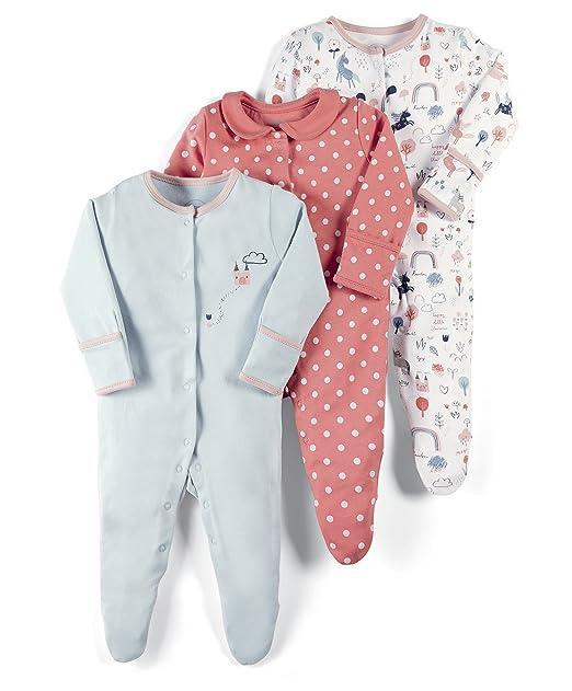 para Beb/és Mamas /& Papas Pelele Pack de 3