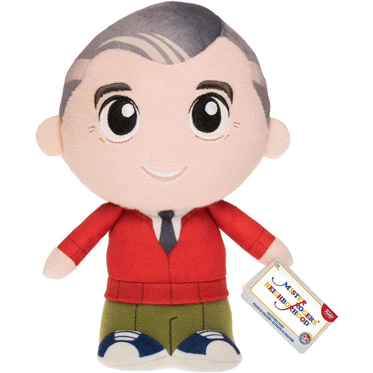 Amazon.com: tuvcubuoruderal Mister Rogers: Funko SuperCute Plushies x Mister Rogers Neighborhood Plush + 1 Official Sesame Street Trading Card Bundle ...
