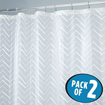 ABC Life Shower Curtains SGS Certified 100 Safety PEVA Material Mildew Resistant Water Proof Non