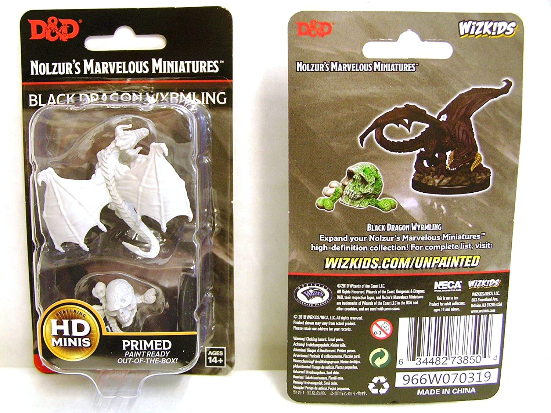 Red Dragon Wyrmling D/&D Wizkids Nolzur/'s Marvelous Miniatures