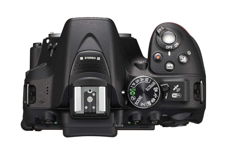Nikon D5300 - Cámara réflex Digital de 24.2 MP (Pantalla 3.2 ...