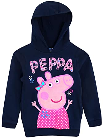 Peppa Pig Girls Peppa Hoodie Ages 18 Months To 7 Years Amazon Co Uk