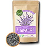 Lavender Flowers | 4 oz Reseable Bag,Bulk | Dried Culinary Lavender Buds, Herbal Tea | Relaxing,Sleep Well | Aromatherapy, Cr