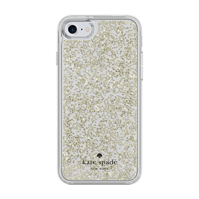 de9fd3a780 Image Unavailable. Image not available for. Color  kate spade new york  Protective Clear Glitter Case ...
