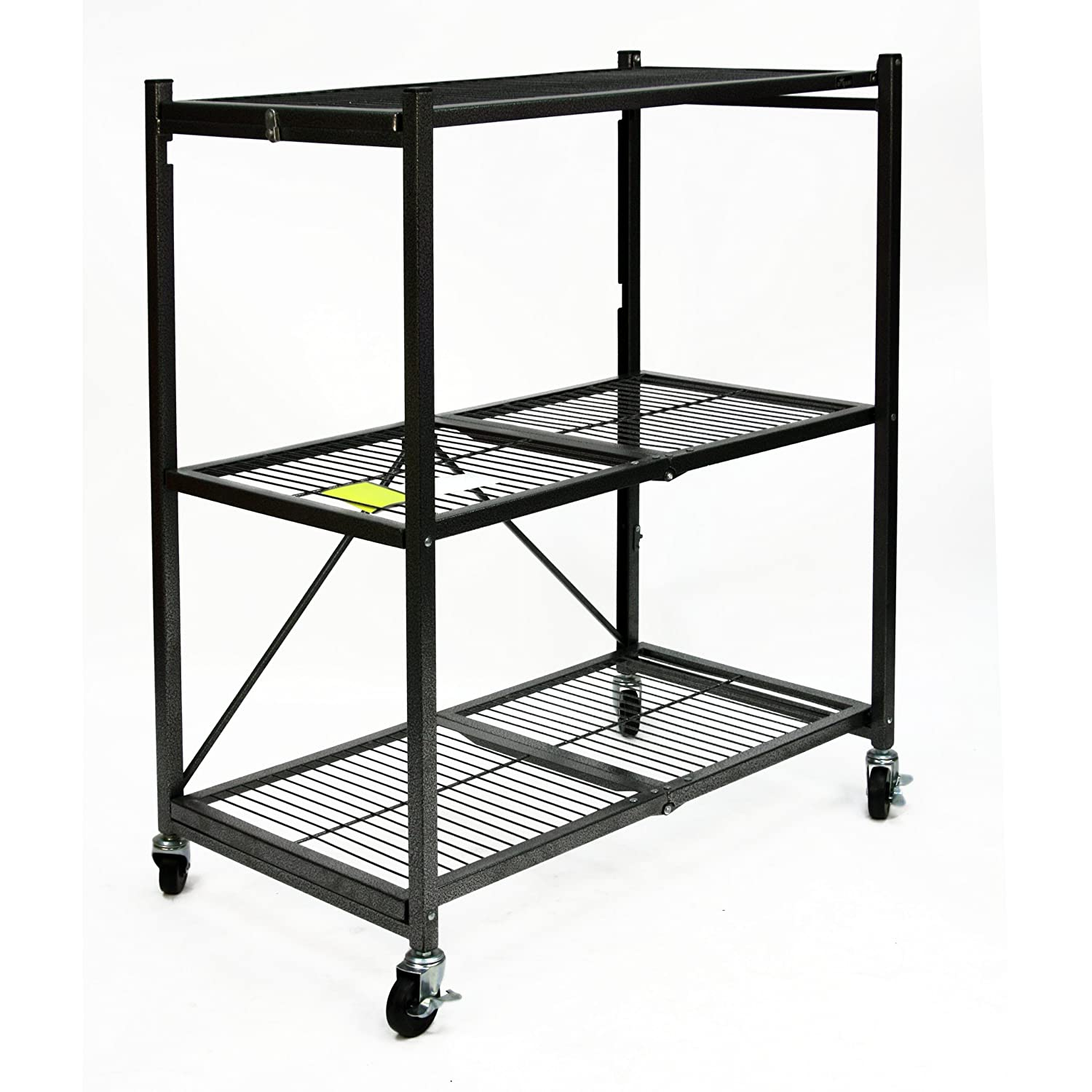shelves part heavy duty of amazon com for hwheel improvement origami inch wheels black set rack shelf home dp
