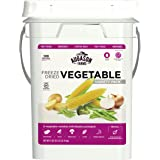 Augason Farms Freeze Dried Vegetable Variety Pack 10 lbs 10.1 oz 4 Gallon Kit