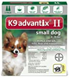 K9 Advantix II for Dogs 2-Month Supply