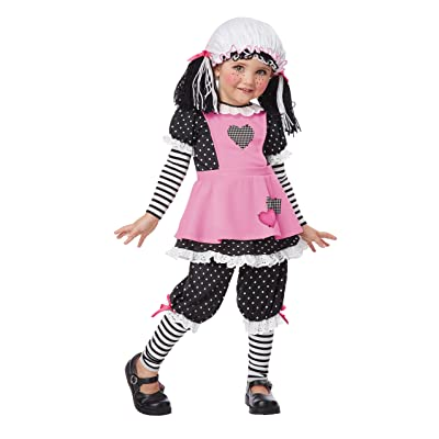 California Costumes Rag Dolly Toddler Costume, 4-6: Toys & Games