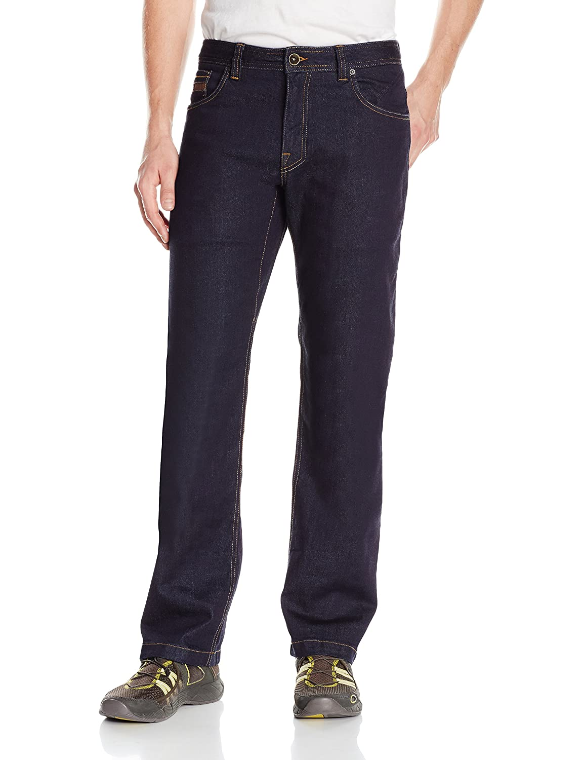 "PrAna Men& 039;s M41173202 Axiom Jean 32"" Inseam, Rinse Wash, Größe 36"