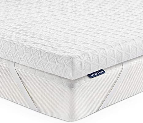 """5/"""" TWIN SIZE COMFORT SELECT 2.5 FIRM FOAM MATTRESS PAD BED TOPPER"""